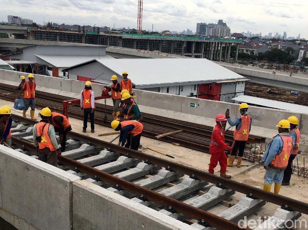 LRT Jakarta Mau Diuji Coba Mei, Yuk Lihat Proyeknya