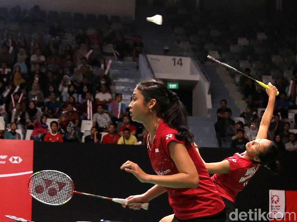 Della/Rizki Amankan Tiket Semifinal Kejuaraan Bulutangkis Asia