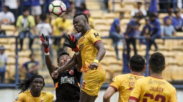 Sriwijaya FC hanya perlu mencetak gol dan bermain imbang di kandang Bali United untuk lolos ke final Piala Presiden 2018.
