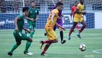 Dengan kemenangan ini, tim asal Palembang itu untuk sementara memimpin Grup A dengan poin enam dari tiga laga.