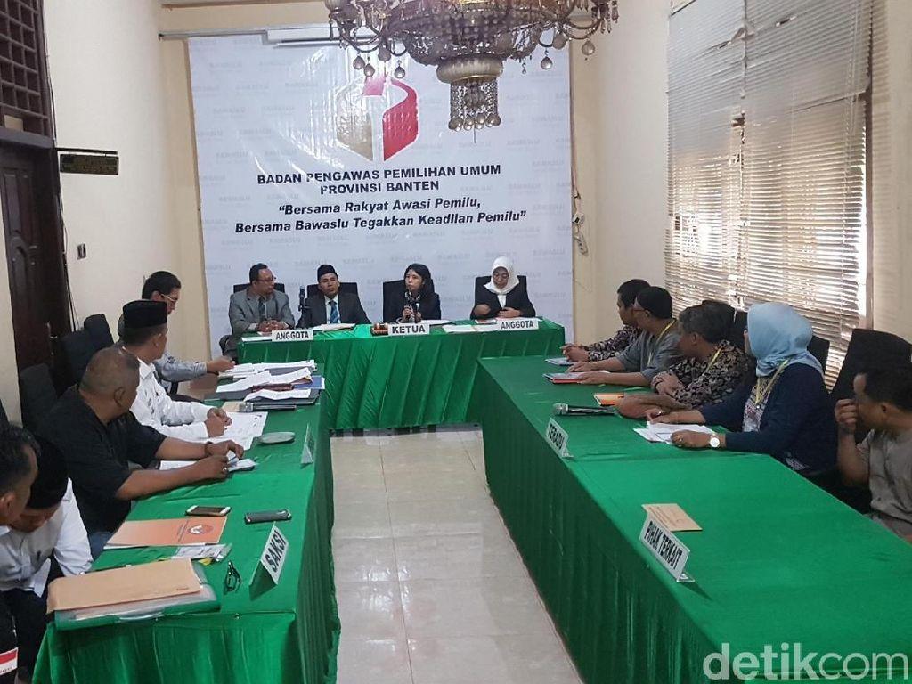 Tim Pemeriksa Daerah Gelar Sidang Aduan soal KPU Lebak