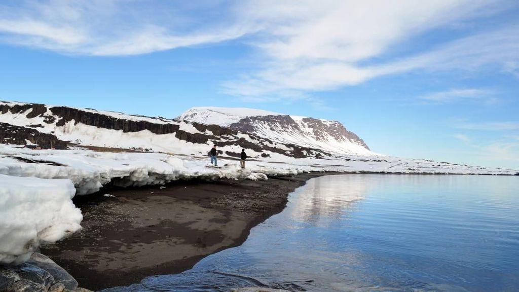 Foto: Bisa Main Ski di Pantai Ini