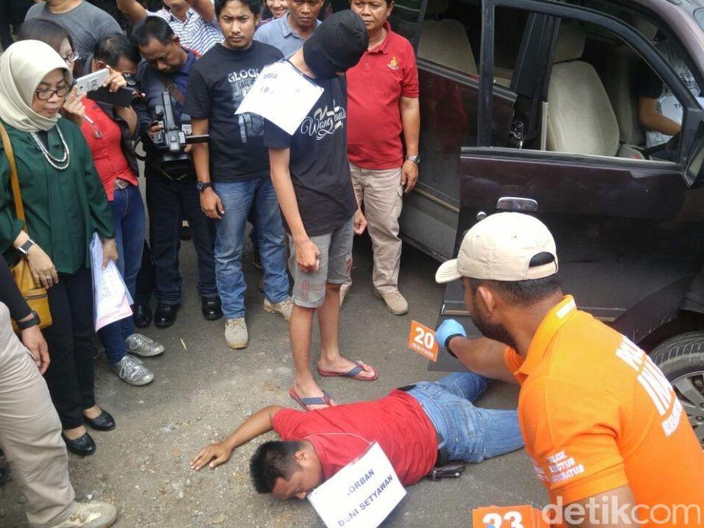 Direka Ulang, 2 Pelajar Bunuh Driver Grab di Semarang Dalam 7 Menit