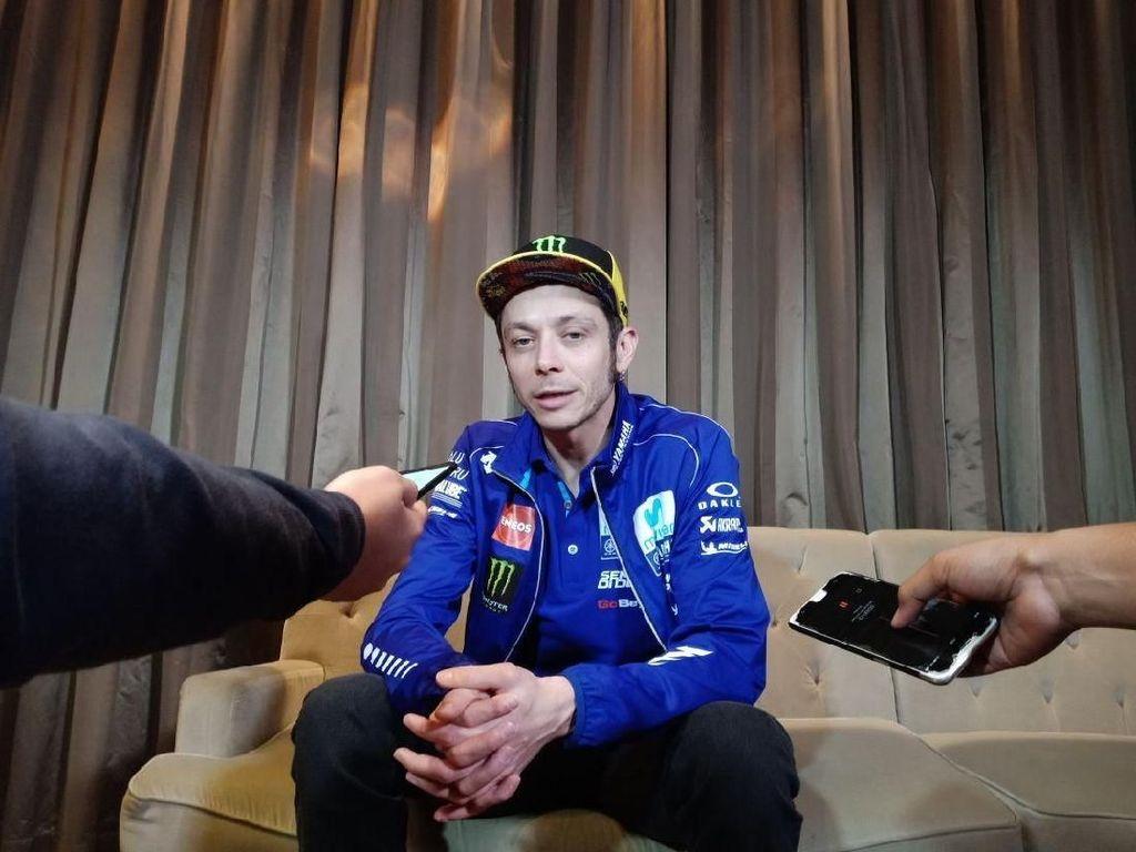 MotoGP Qatar Dibatalkan, Rossi: Kacau Banget!