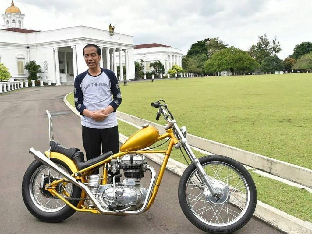 Spion Motor Jokowi Tiba-tiba Pindah ke Tengah Ini Kata Modifikator