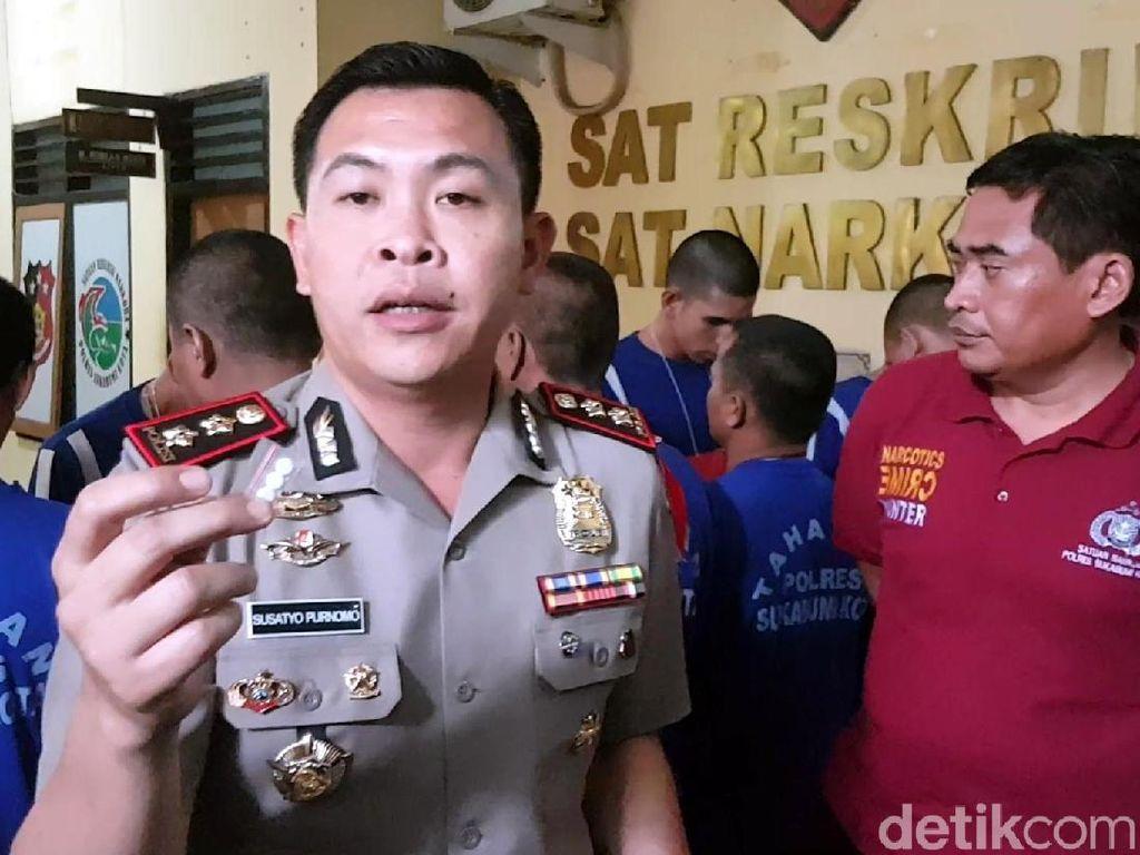 Peredaran Ekstasi Kelas Bawah Picu Aksi Kejahatan di Sukabumi