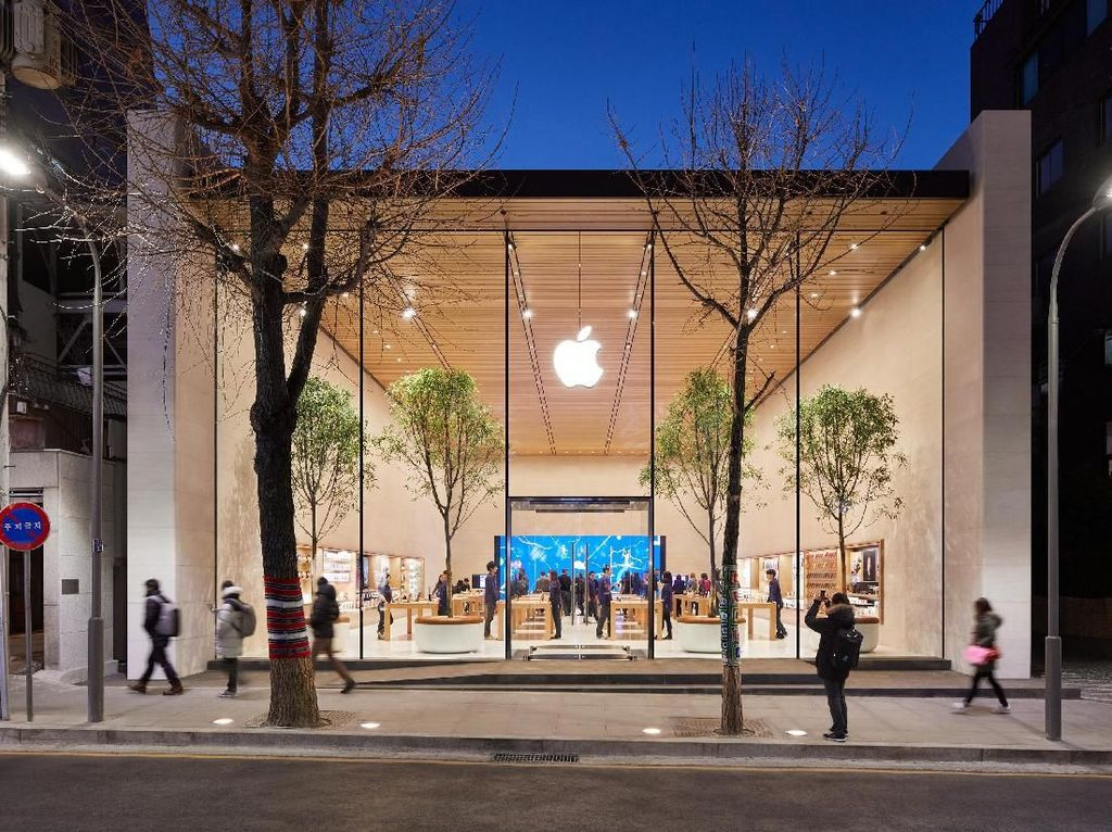 Toko Pertama Apple di Kandang Samsung Siap Dibuka