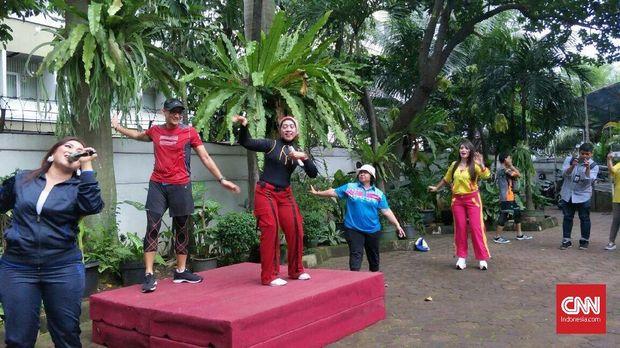 Ma'ruf Amin Balik Kampung ke Banten, Sandi Senam di Wonosobo