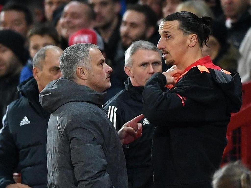 Jika Ibrahimovic Ingin Hengkang, Mourinho Tak Akan Menghalangi
