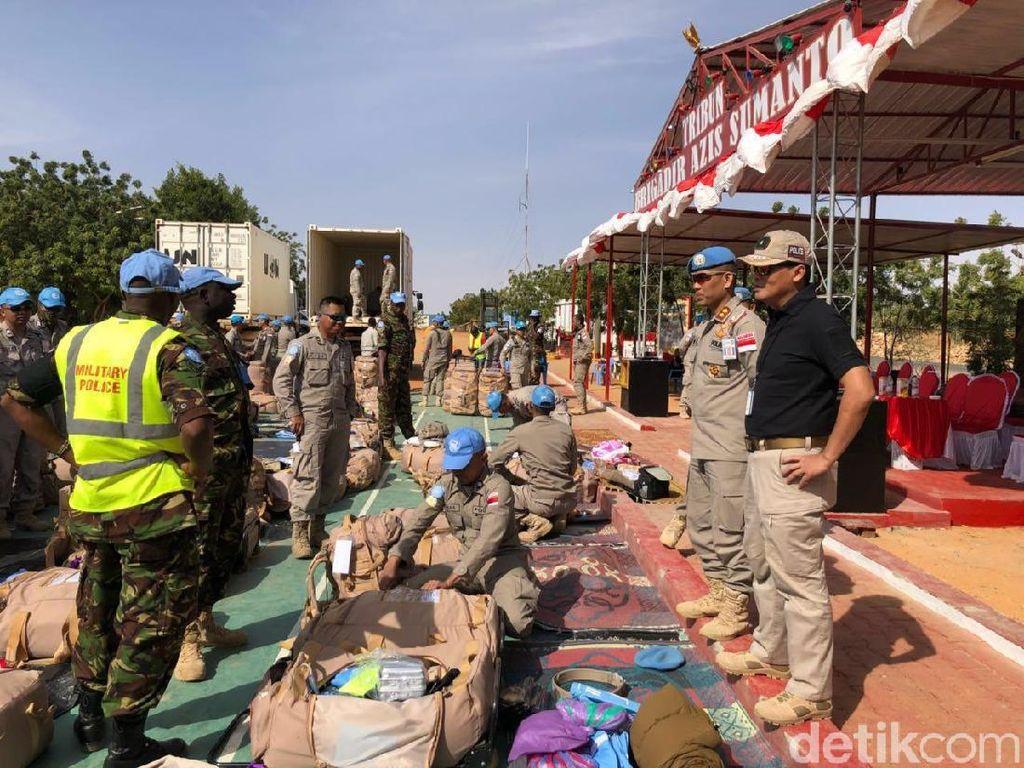 Pasukan Polri di PBB Diingatkan Tak Bawa Barang Ilegal ke Tanah Air