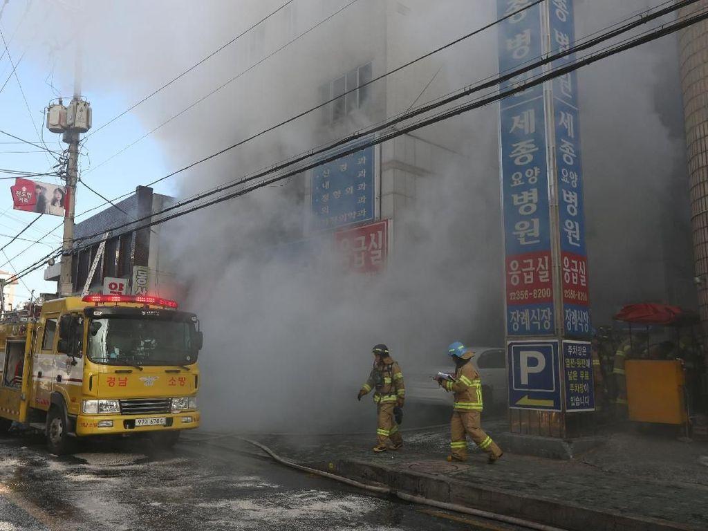 Polisi Ungkap Penyebab Kebakaran RS di Korsel yang Tewaskan 41 Orang