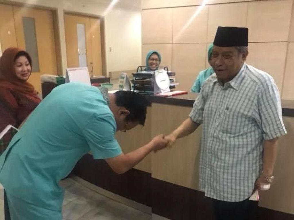 Sempat Dirawat karena Capek, KH Said Aqil Pulang dari RS