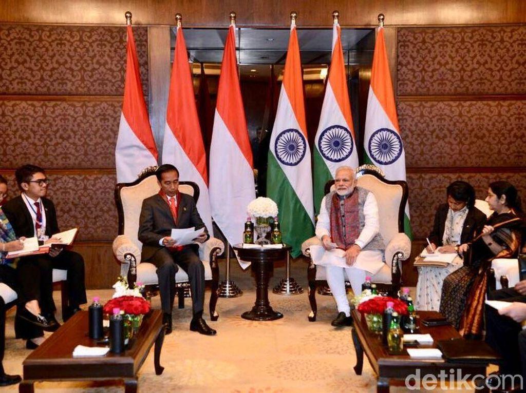 Jokowi Undang PM India Modi ke Indonesia