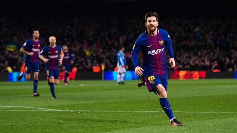 Morata Sebut Messi Tak Bisa Dihentikan