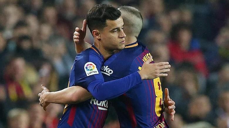 Tentang Rumor Persaingan Sengit Coutinho-Iniesta di Barcelona
