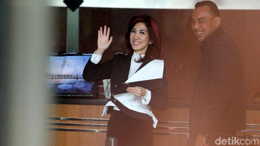 Senyum Merekah dr Sonia Wibisono Usai Diperiksa KPK
