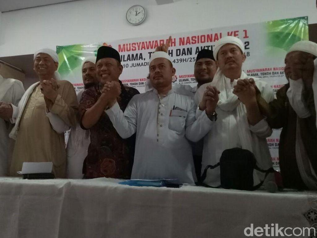 Foto: Persaudaraan Alumni 212 Umumkan Rencana Kepulangan Habib Rizieq