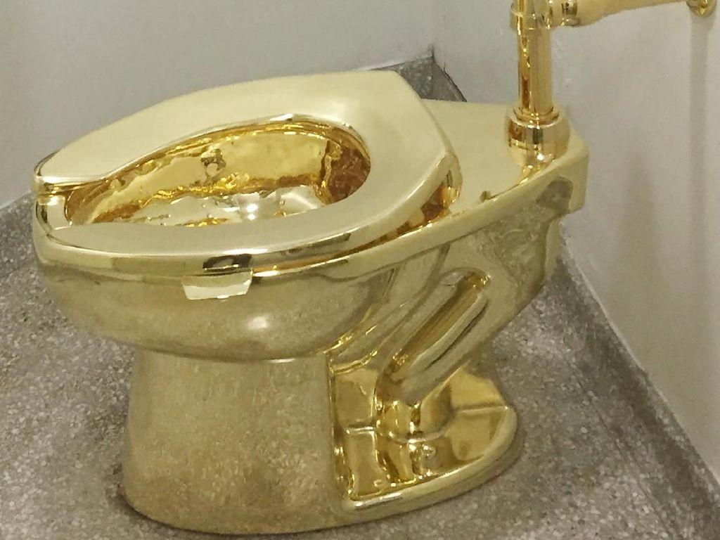 Toilet Emas Rp 84 M Hilang Dicuri, Seniman Italia Buka Suara