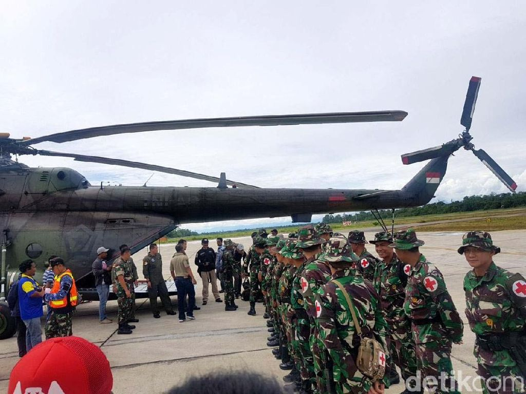 Atasi Gizi Buruk di Papua, Satgas TNI Beroperasi Setahun