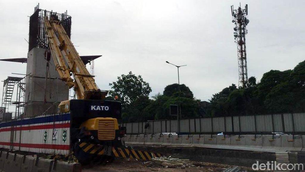 Begini Penampakan Pembangunan Tol Jakarta-Cikampek Layang