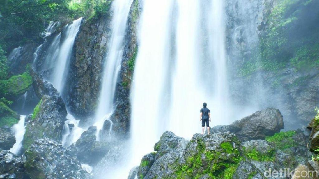 Foto: Air Terjun Cantik Setinggi 20 Meter di Sulawesi Selatan