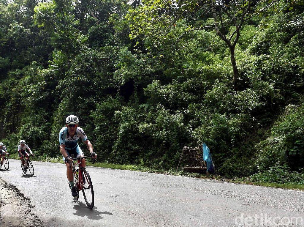 Etape 4 Tour de Indonesia: Tanjakan Maut Penentu Juara Umum