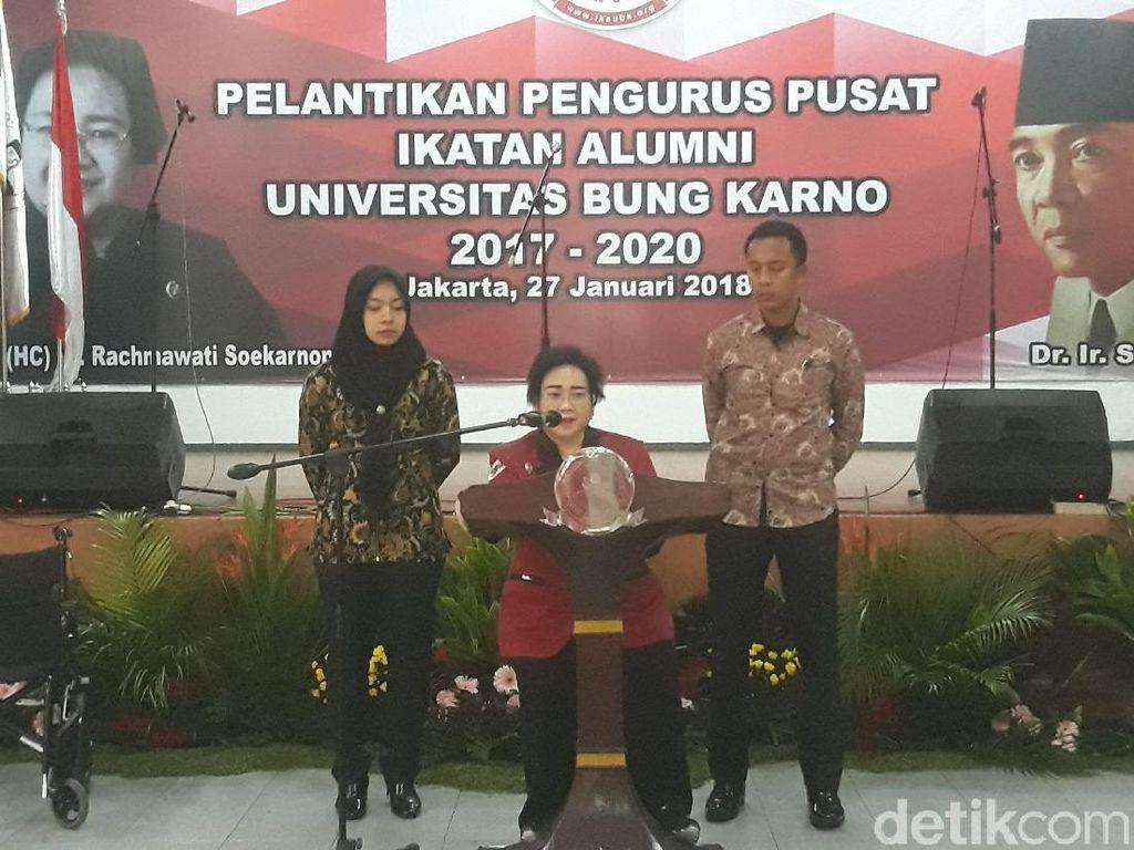 Rachmawati Lantik Pengurus Ikatan Alumni UBK, Lulung Hadir