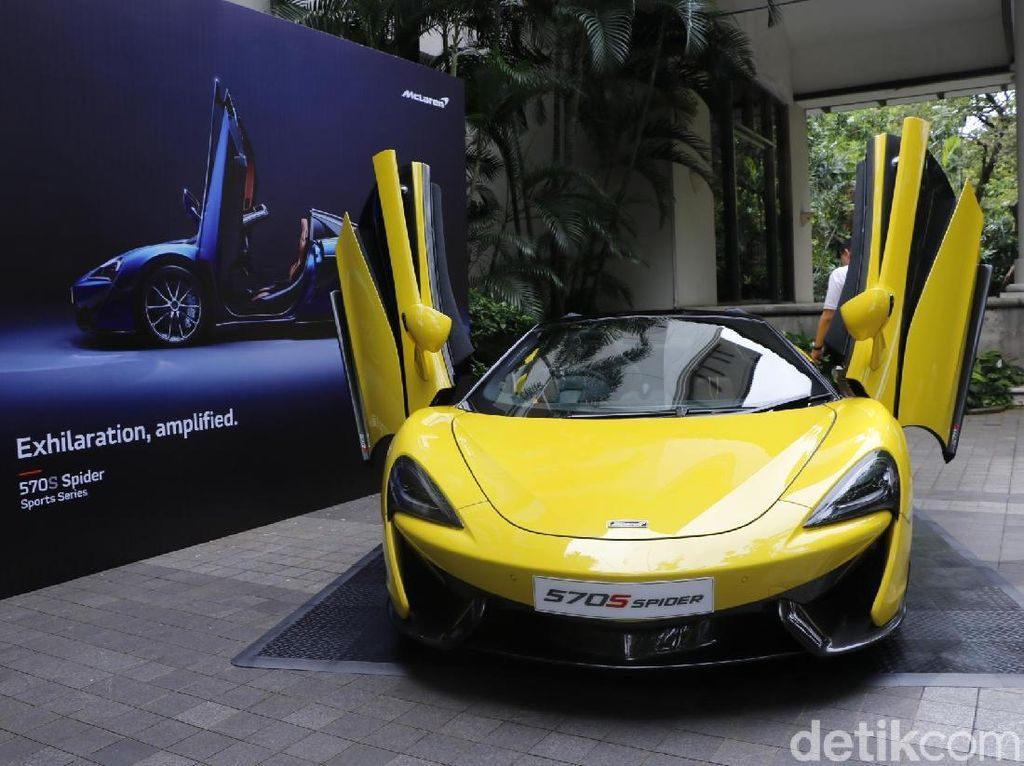 New McLaren 570S Spider Meluncur di Indonesia