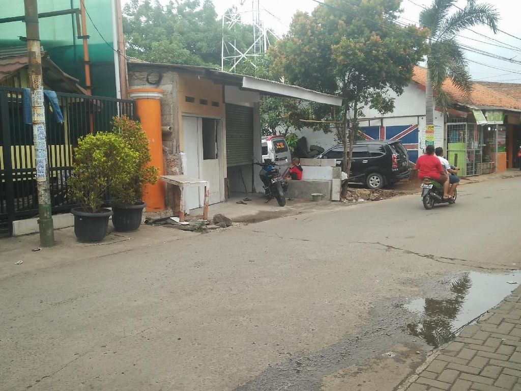 Potret Lokasi Saksi Bisu ABG Dibacok dan Dikeroyok 26 Orang di Bekasi