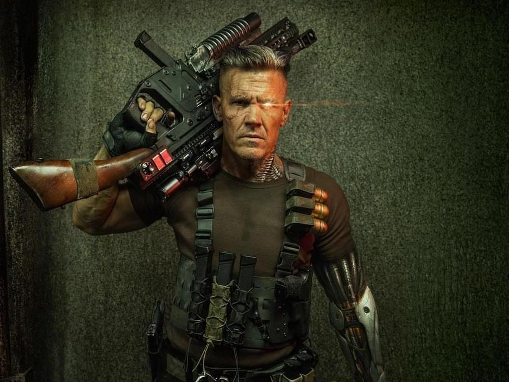 Harus Punya Tubuh Berotot, Ini Potret Olahraga Aktor Cable di Deadpool 2