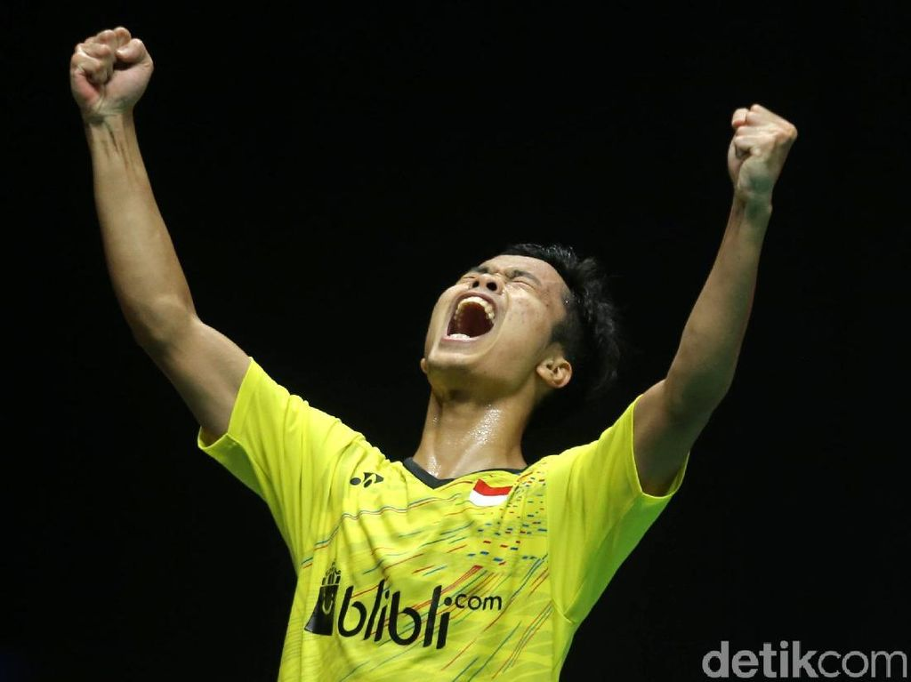 Momen Anthony Ginting Juarai Indonesia Masters 2018