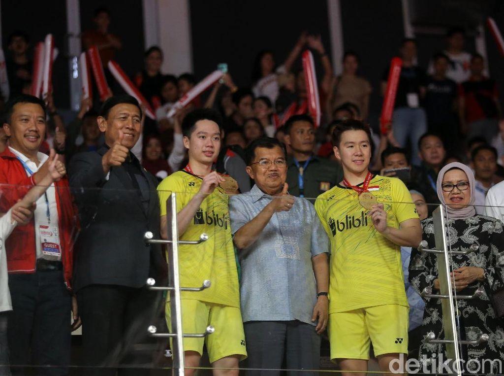 Bahas Hasil Indonesia Masters 2018, Wapres JK Sebut Asian Games