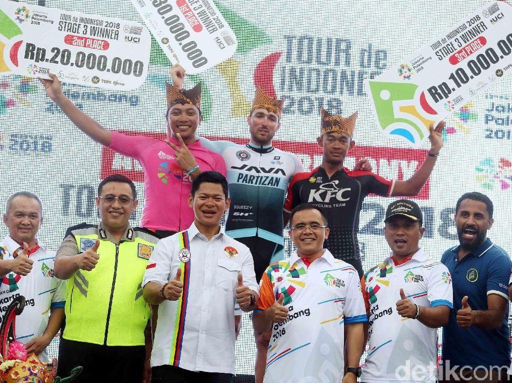 Tour de Indonesia Bukan Tur Balap Sepeda Biasa