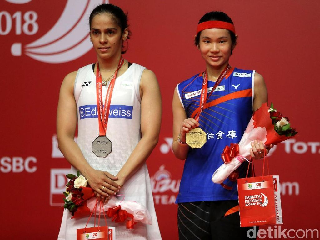 Foto: Kalahkan Saina Nehwal, Tai Tzu Ying Juara