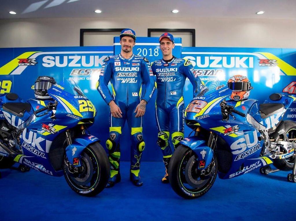 Suzuki Sudah Capai Target di MotoGP 2018