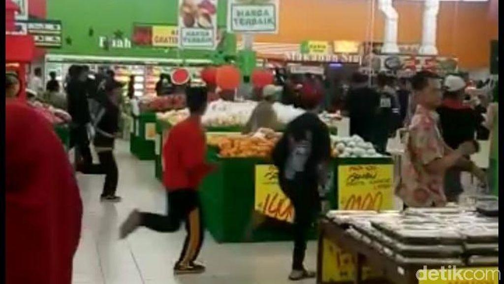 Viral Video Bonek Serbu Giant, Polisi: Itu Tidak Benar