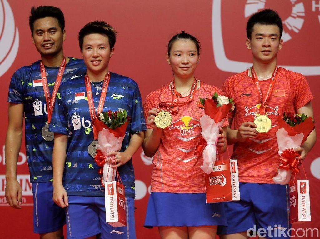 Saat-saat Tontowi/Liliyana Tumbang di Final