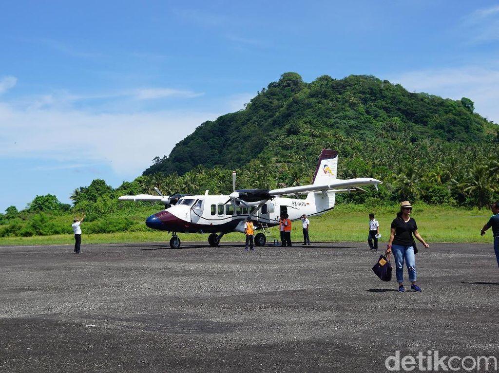 Landasan Pacu Bandara Banda Neira akan Ditambah Jadi 1.400 Meter