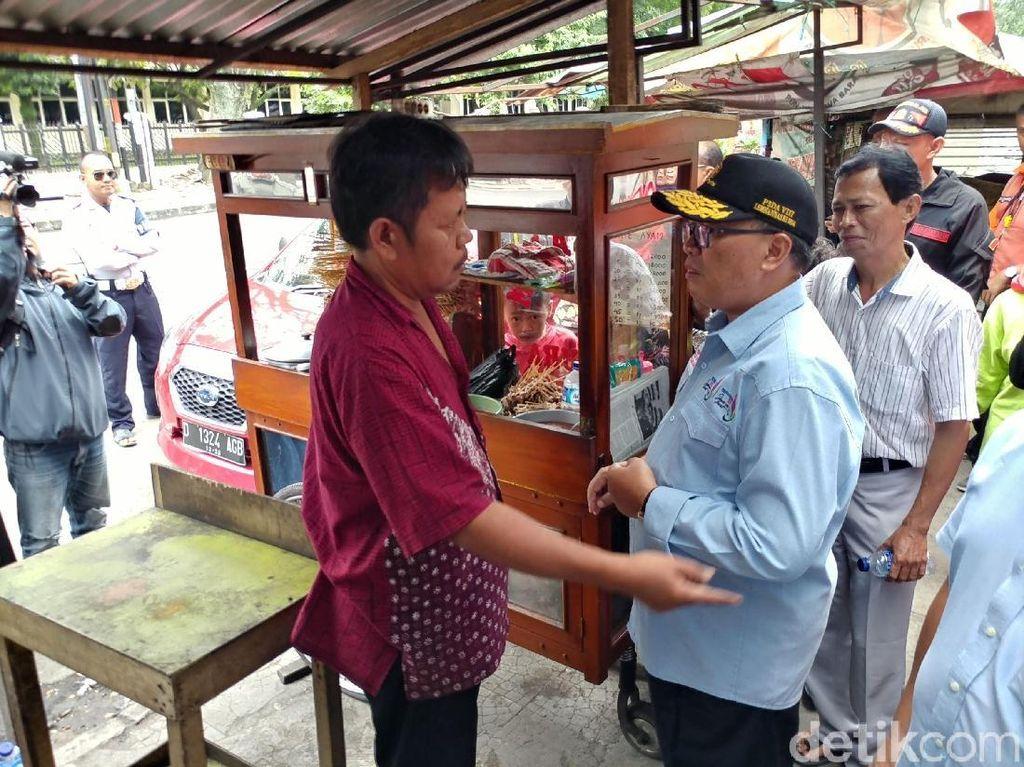 Pemkot Bandung Siapkan Rp 80 M untuk Relokasi PKL Cicadas