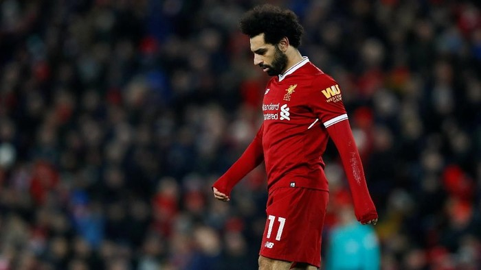 Mohamed Salah jadi kapten Fantasy Premier League pekan ini (Jason Cairnduff/Action Images via Reuters)