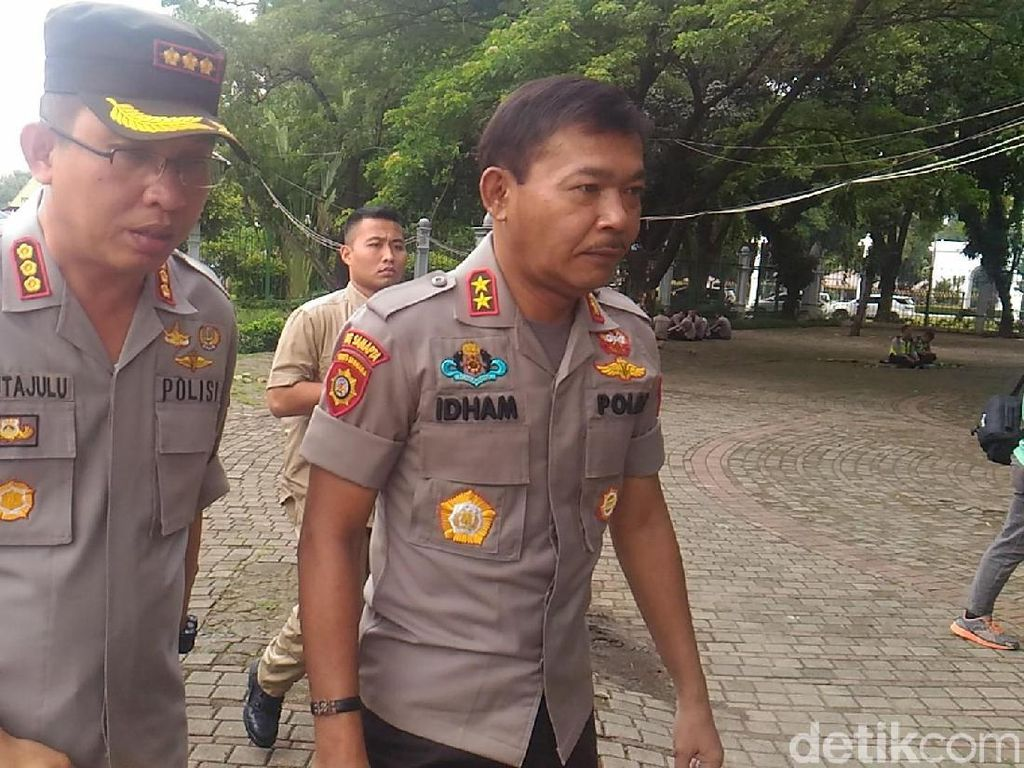 Jelang Demo Driver Taksi Online, Kapolda Metro Datang ke Monas