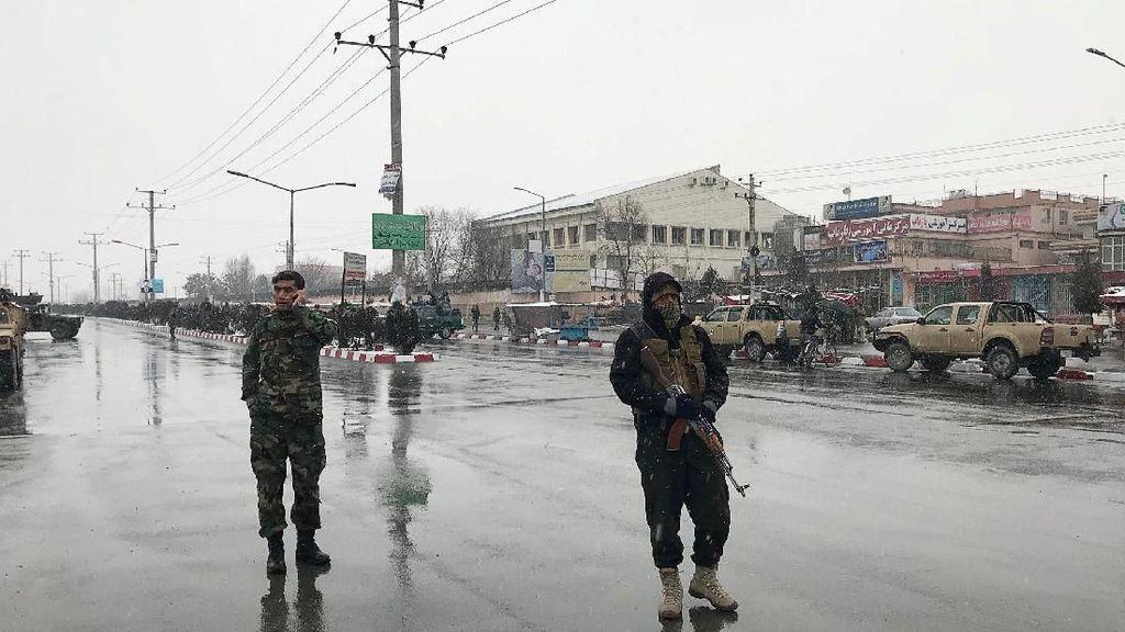 Potret Lokasi Ledakan dan Tembakan di Kabul Jelang Kedatangan Jokowi
