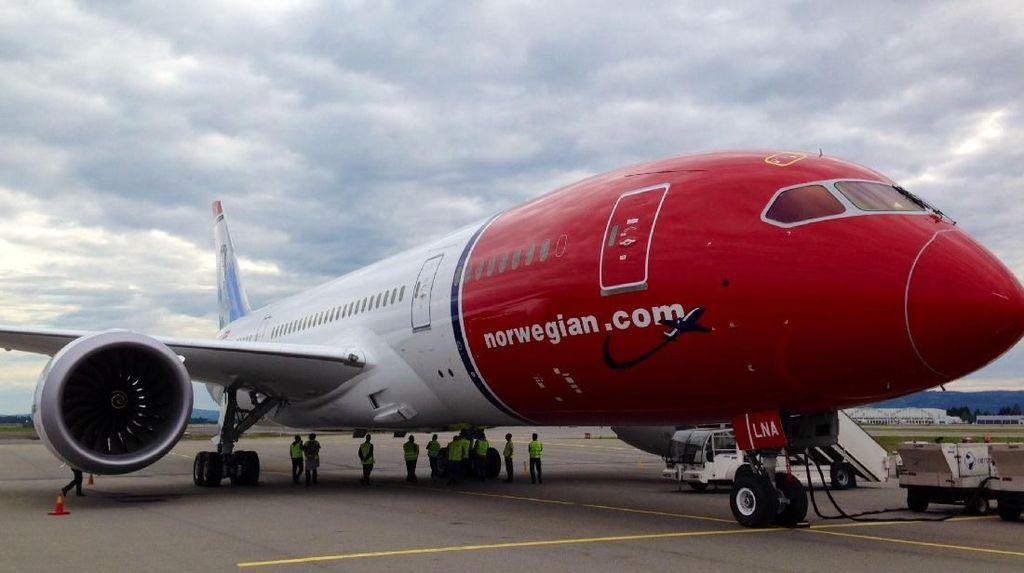 Masalah Mesin, Boeing 737 MAX 8 Norwegian Air Mendarat Darurat di Iran