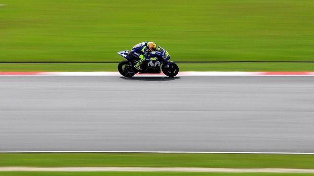 Valentino Rossi puas dengan performanya di sesi tes resmi MotoGP.