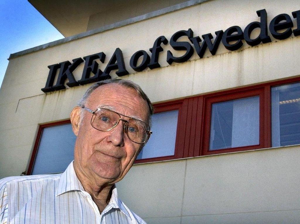 Jerih Payah dan Kecerdikan Ingvar Kamprad si Pendiri IKEA