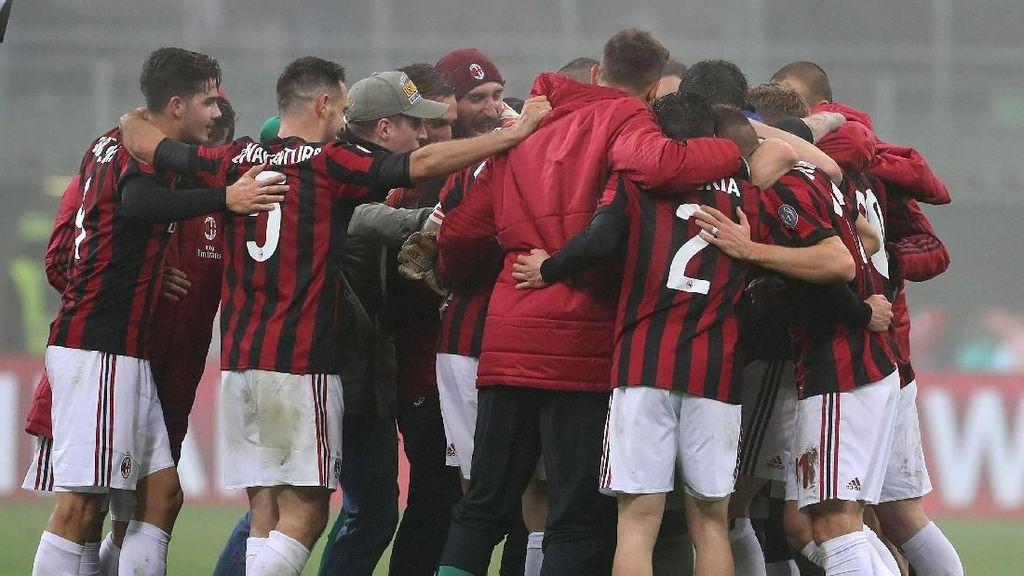 Foto: Milan Ukir Hat-trick Kemenangan Perdana di Musim Ini