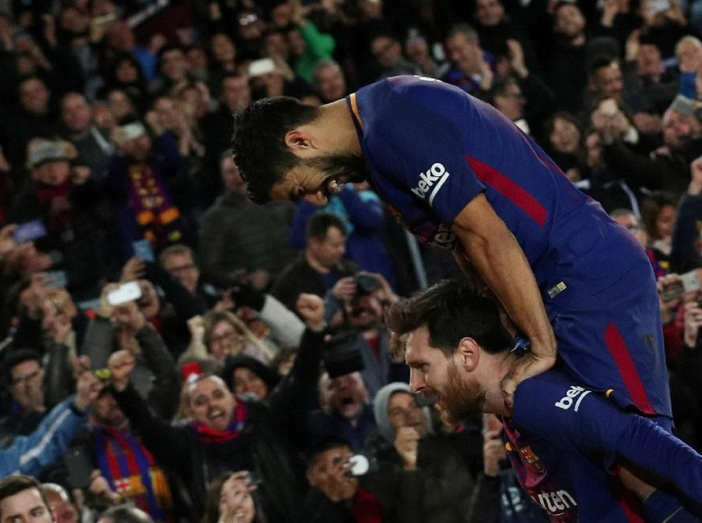 Aksi-aksi Suarez-Messi, Si Penyelamat Barcelona