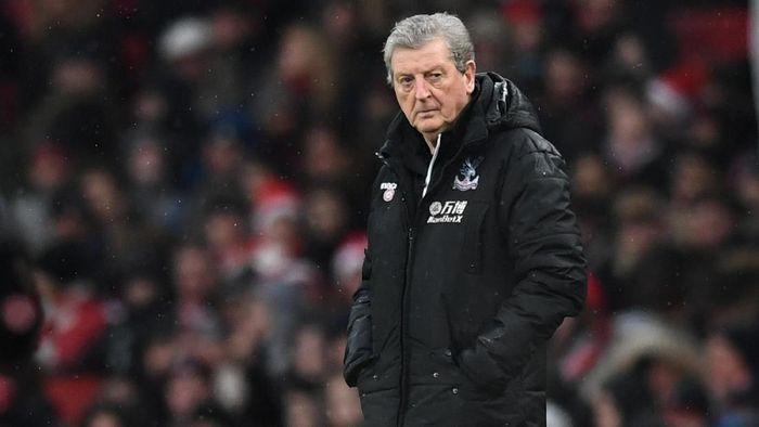 Roy Hodgson (Crystal Palace). Pada September 2017, Hodgson ditunjuk untuk menangani Palace yang mengawali musim dengan buruk. Gaji 2,5 juta pound sterling (Rp 47 miliar) per musim didapatnya dari pekerjaan ini. (Foto: Dylan Martinez/Reuters)