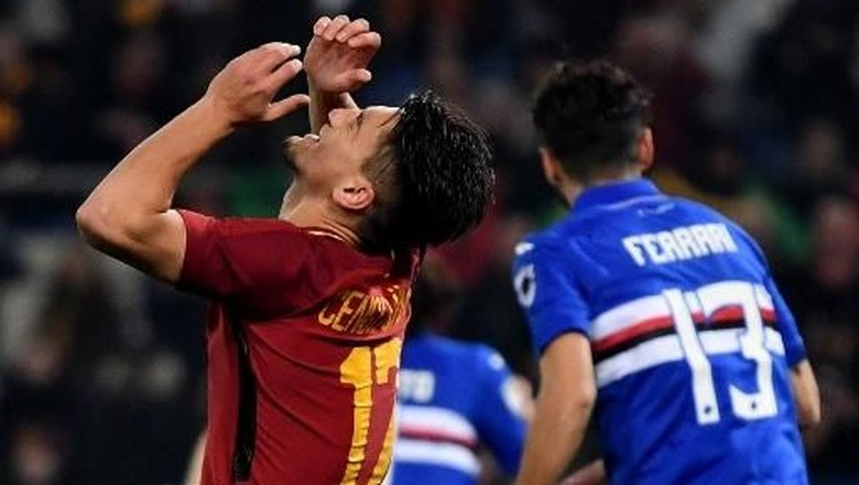 Roma yang Sedang Kesulitan Bikin Gol