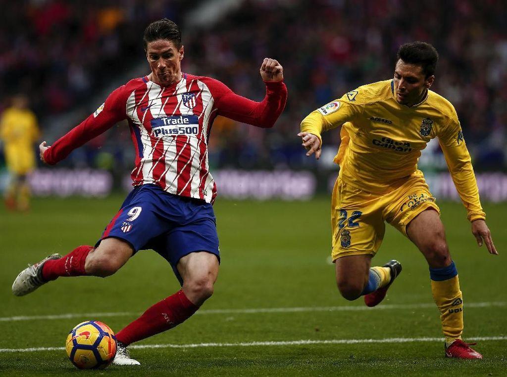 Atletico Bungkam Las Palmas Tiga Gol Tanpa Balas
